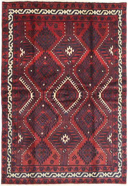 Lori Rug 170X240 Authentic  Oriental Handknotted Dark Brown/Dark Red (Wool, Persia/Iran)