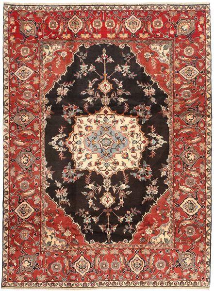 Hamadan Shahrbaf Alfombra 225X303 Oriental Hecha A Mano Rojo Oscuro/Marrón (Lana, Persia/Irán)