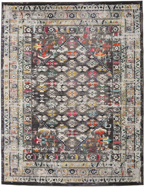 Chillon - Dark Grey/Multi Rug 240X300 Modern Light Grey/Dark Grey ( Turkey)