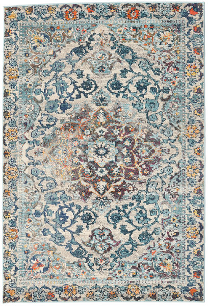 Cheverny - Blue/Cream Rug 160X230 Modern Light Grey/Dark Grey ( Turkey)