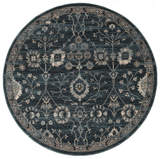 Zanjan - Donkergroen tapijt RVD19259