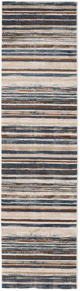 Layered - Tummanharmaa / Ruoste-matto RVD19209
