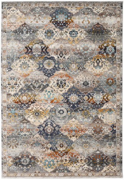 Molina - Dark Rug 182X274 Modern Light Grey/Light Brown ( Turkey)