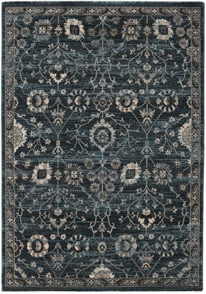 Zanjan - Dark Green Rug 160X230 Modern Dark Grey/Black ( Turkey)