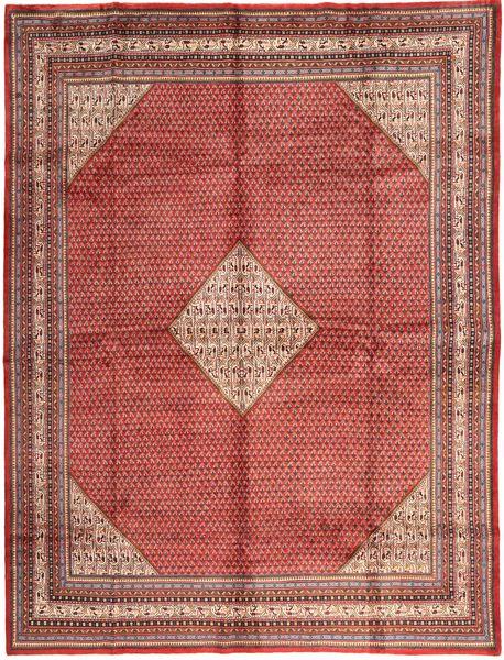Sarough Mir Tapis 295X389 D'orient Fait Main Rouge Foncé/Rose Clair Grand (Laine, Perse/Iran)