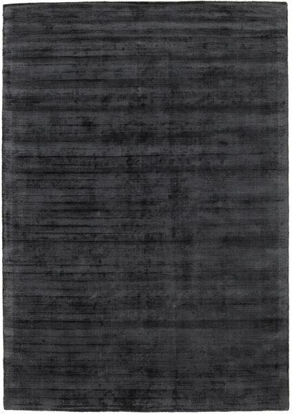 Tribeca - Charcoal Tapis 160X230 Moderne Gris Foncé ( Inde)