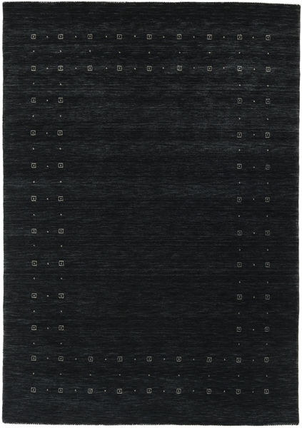 Loribaf Loom Delta - Black/Grey Rug 160X230 Modern Dark Grey (Wool, India)