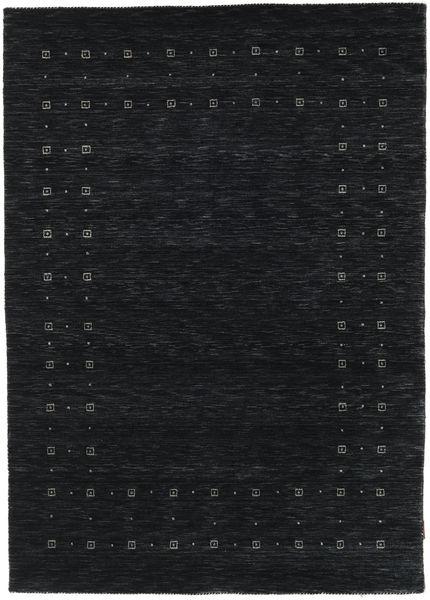 Loribaf Loom Delta - Sort / Grå tæppe CVD17269