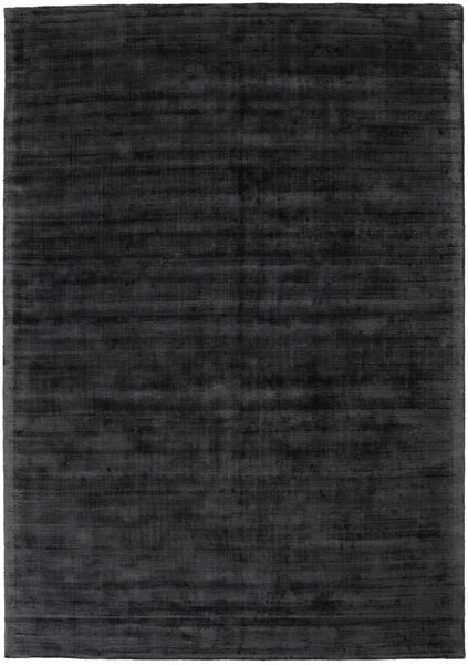 Tribeca - Charcoal Rug 240X340 Modern Black/Dark Grey ( India)