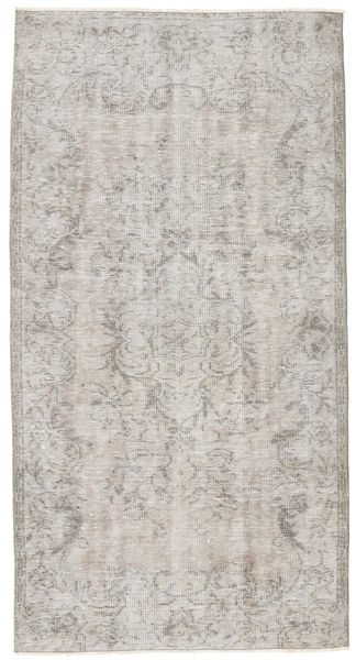 Colored Vintage Rug 107X203 Authentic  Modern Handknotted Light Grey (Wool, Turkey)