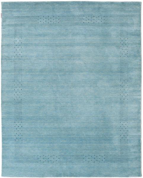 Loribaf Loom Beta - Bleu Clair Tapis 200X240 Moderne Bleu Clair/Bleu Turquoise (Laine, Inde)