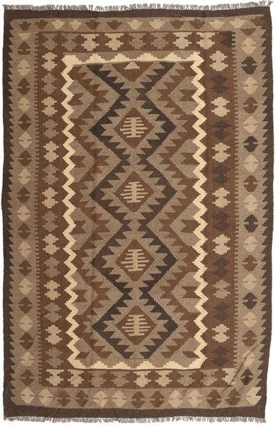 Kilim Maimane Rug 195X293 Authentic  Oriental Handwoven Brown/Light Brown (Wool, Afghanistan)