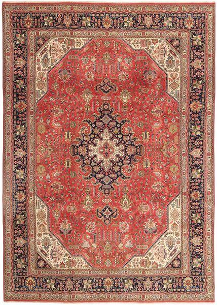 Tabriz Patina Matto 236X340 Itämainen Käsinsolmittu Ruskea/Vaaleanruskea (Villa, Persia/Iran)