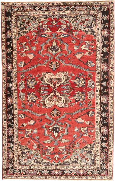 Hamadan Patina Alfombra 165X260 Oriental Hecha A Mano Marrón/Óxido/Roja (Lana, Persia/Irán)