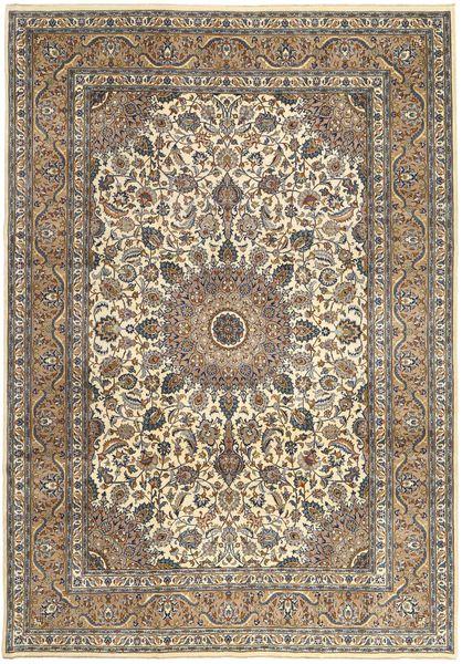 Keshan Patina Koberec 242X347 Orientální Ručně Tkaný Světle Hnědá/Béžová (Vlna, Persie/Írán)