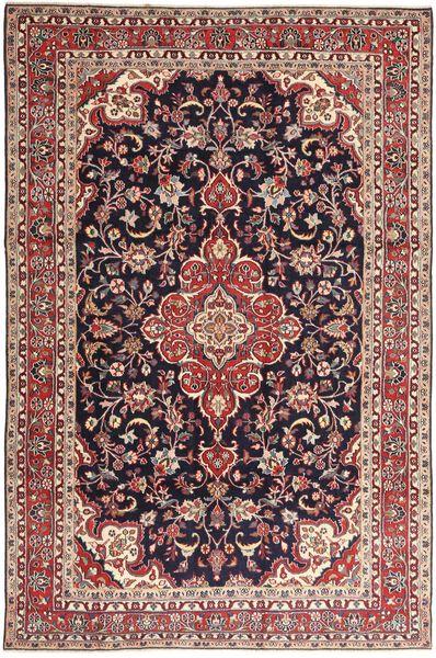 Hamadan Shahrbaf Patina Dywan 203X313 Orientalny Tkany Ręcznie Ciemnoczerwony/Jasnobrązowy (Wełna, Persja/Iran)