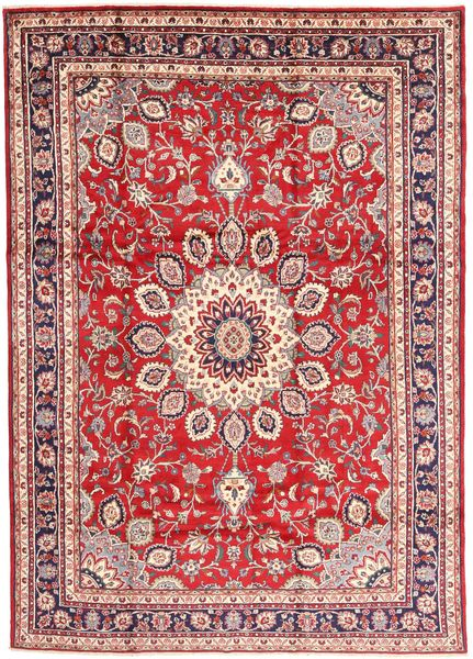 Hamadan Shahrbaf Rug 210X297 Authentic  Oriental Handknotted Dark Red/Rust Red (Wool, Persia/Iran)