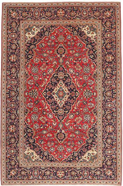 Keshan Teppe 198X300 Ekte Orientalsk Håndknyttet Brun/Mørk Brun (Ull, Persia/Iran)