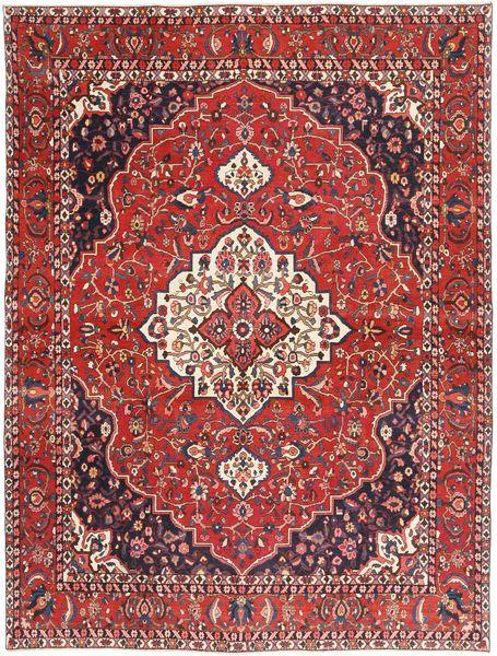 Bakhtiar Patina Matto 262X350 Itämainen Käsinsolmittu Tummanpunainen/Ruskea Isot (Villa, Persia/Iran)