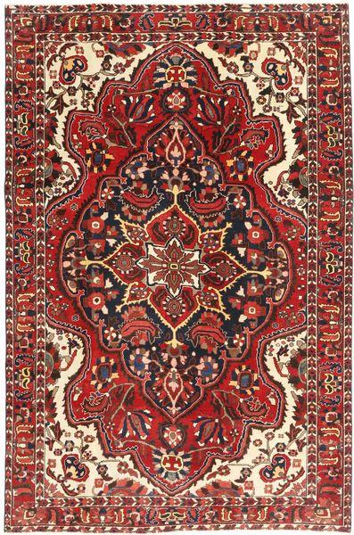 Bakhtiar Patina Teppe 215X307 Ekte Orientalsk Håndknyttet Mørk Rød/Beige (Ull, Persia/Iran)