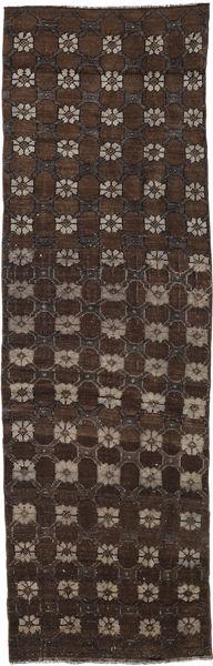 Colored Vintage Matto 82X273 Moderni Käsinsolmittu Käytävämatto Tummanpunainen/Tummanruskea (Villa, Turkki)