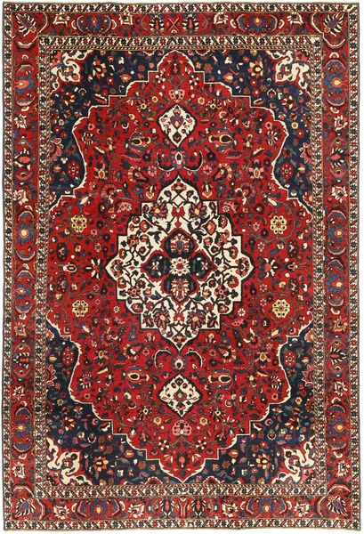 Bakhtiari Patina Rug 208X310 Authentic  Oriental Handknotted Brown/Dark Red (Wool, Persia/Iran)