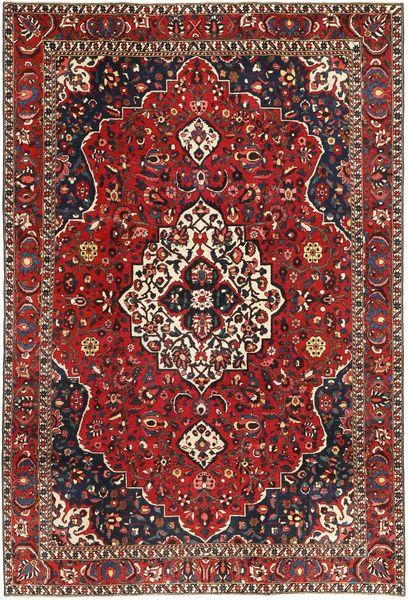 Bakhtiar Patina Teppe 208X310 Ekte Orientalsk Håndknyttet Mørk Rød/Mørk Brun (Ull, Persia/Iran)