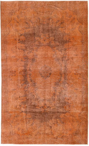 Colored Vintage Rug 165X270 Authentic  Modern Handknotted Light Brown/Brown (Wool, Turkey)