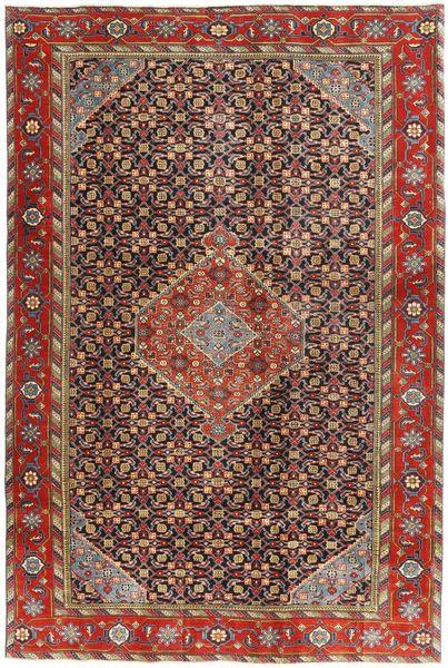 Ardebil Patina Matto 190X285 Itämainen Käsinsolmittu Vaaleanruskea/Tummanruskea (Villa, Persia/Iran)