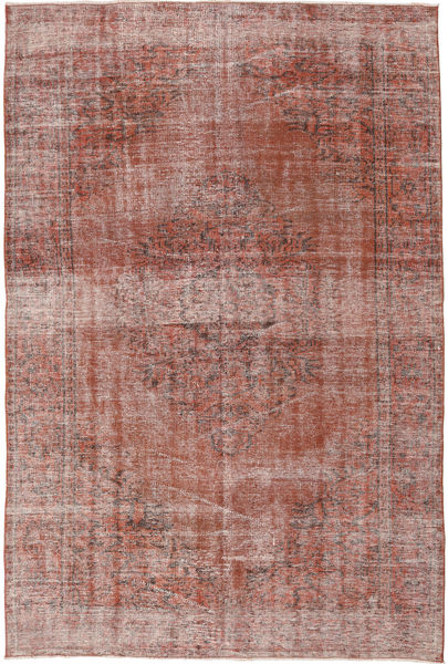 Colored Vintage Rug 183X272 Authentic  Modern Handknotted Light Brown/Brown/Light Pink (Wool, Turkey)