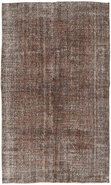 Colored Vintage Rug 151X252 Authentic  Modern Handknotted Light Brown/Dark Grey (Wool, Turkey)