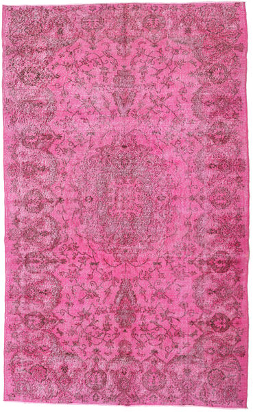 Colored Vintage Rug 170X284 Authentic  Modern Handknotted Pink/Light Pink (Wool, Turkey)