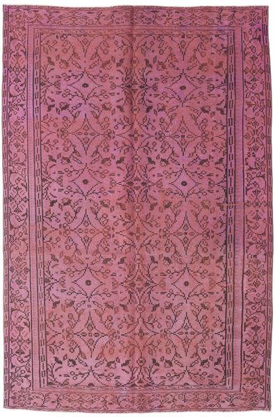 Colored Vintage Tapis 175X278 Moderne Fait Main Violet Clair/Violet Foncé (Laine, Turquie)