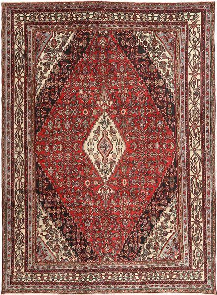 Hamadan Patina Matta 255X347 Äkta Orientalisk Handknuten Mörkbrun/Brun Stor (Ull, Persien/Iran)