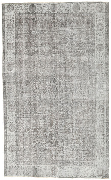 Colored Vintage Rug 160X292 Authentic  Modern Handknotted Light Grey (Wool, Turkey)