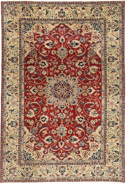 Nadżafabad Patina Dywan 203X300 Orientalny Tkany Ręcznie Jasnobrązowy/Ciemnoczerwony (Wełna, Persja/Iran)
