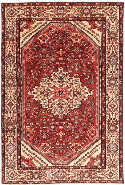 Hamadan Patina Rug 205X312 Authentic  Oriental Handknotted Dark Red/Dark Brown (Wool, Persia/Iran)