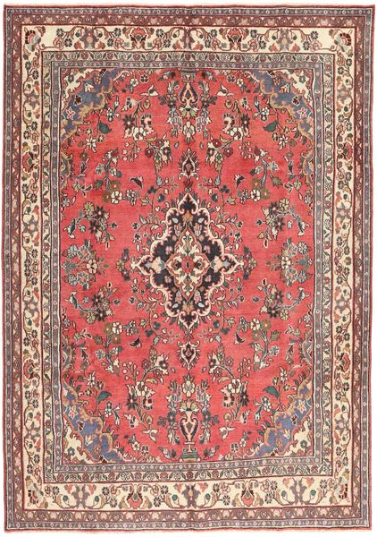 Hamadan Patina Rug 203X298 Authentic  Oriental Handknotted Brown/Beige (Wool, Persia/Iran)