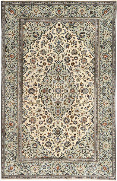 Kashan Patina Tapis 192X300 D'orient Fait Main Marron Clair/Beige (Laine, Perse/Iran)