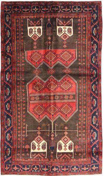 Koliai Matto 157X270 Itämainen Käsinsolmittu Tummanpunainen/Ruskea (Villa, Persia/Iran)