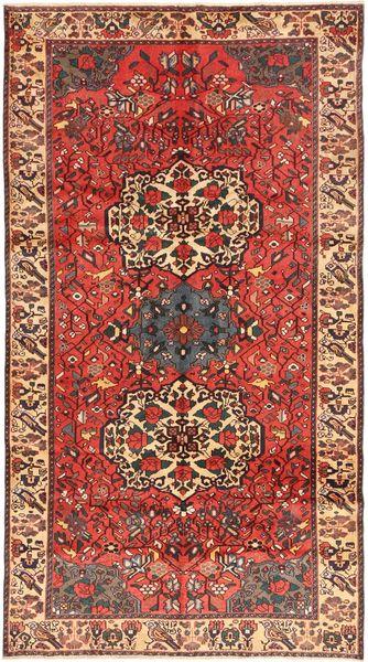 Bakhtiar Patina Matto 165X307 Itämainen Käsinsolmittu Tummanpunainen/Ruskea (Villa, Persia/Iran)