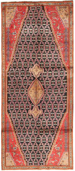 Koliai Rug 127X310 Authentic  Oriental Handknotted Hallway Runner  Brown/Light Brown (Wool, Persia/Iran)