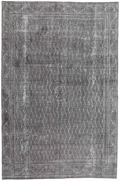 Colored Vintage Rug 187X278 Authentic  Modern Handknotted Light Grey/Dark Grey (Wool, Persia/Iran)