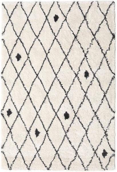 Alfombra Shaggy Zanjan - Off-Blanco / Oscuro Gris CVD19582