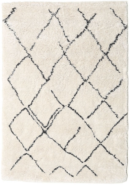 Shaggy Agadir - Off-White / Dark Grey carpet CVD19367