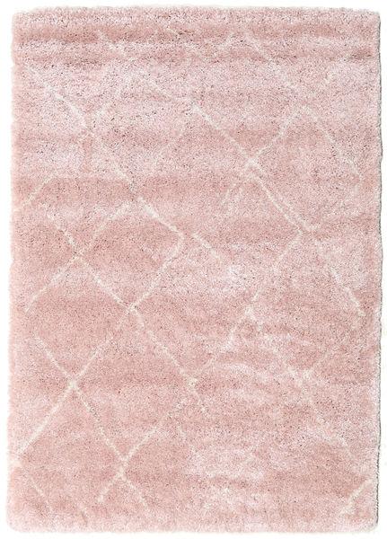 Shaggy Agadir - Soft Rose/Off-Vit Teppe 160X230 Moderne Lyserosa/Lyselilla ( Tyrkia)