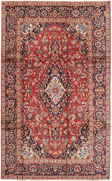 Keshan Matto 195X325 Itämainen Käsinsolmittu Tummanpunainen/Ruskea (Villa, Persia/Iran)