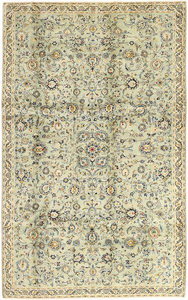 Keshan Matto 198X315 Itämainen Käsinsolmittu Tummanbeige/Oliivinvihreä (Villa, Persia/Iran)