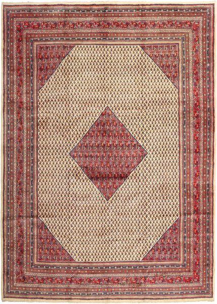 Sarouk Mir Rug 293X398 Authentic  Oriental Handknotted Light Brown/Brown Large (Wool, Persia/Iran)