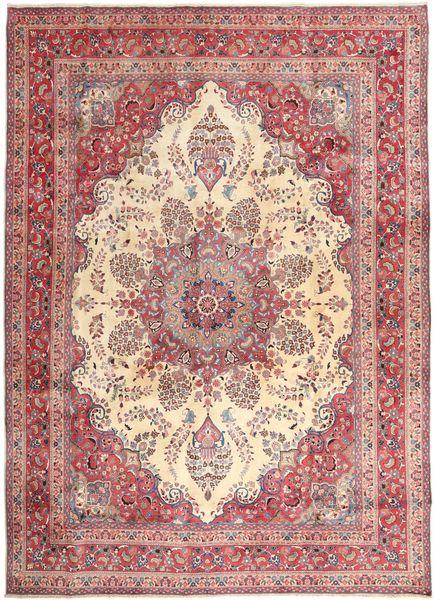 Hamadan Shahrbaf Alfombra 285X380 Oriental Hecha A Mano Violeta/Rosa Claro Grande (Lana, Persia/Irán)